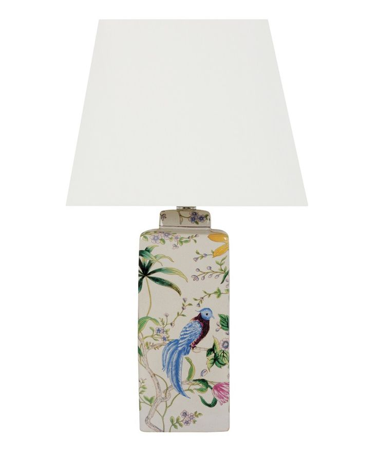 Melodie 1 Light Square Table Lamp
