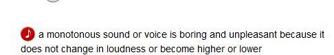 monotonous - definition. American English definition of monotonous by Macmillan Dictionary