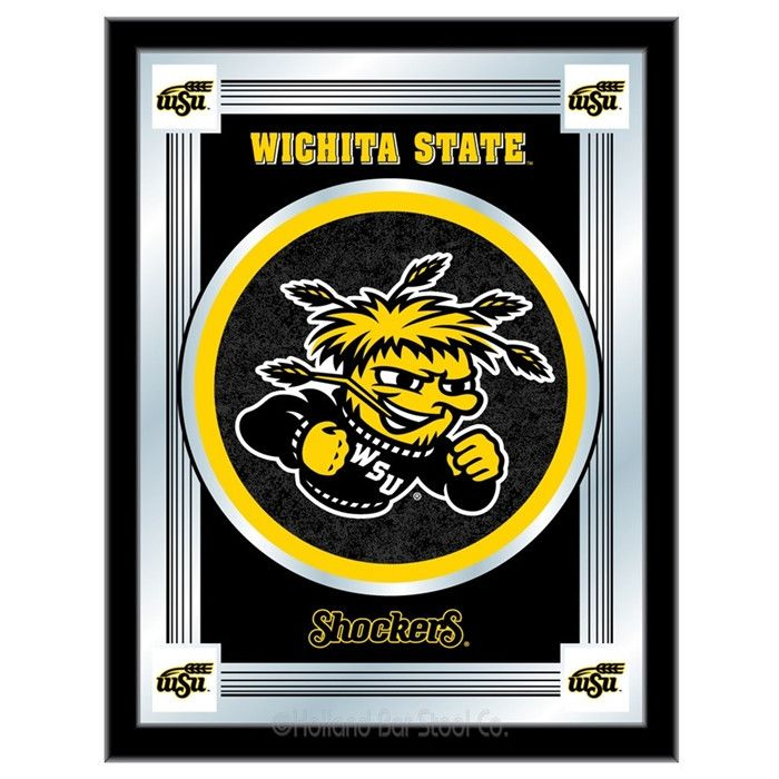 Wichita State University Logo Mirror