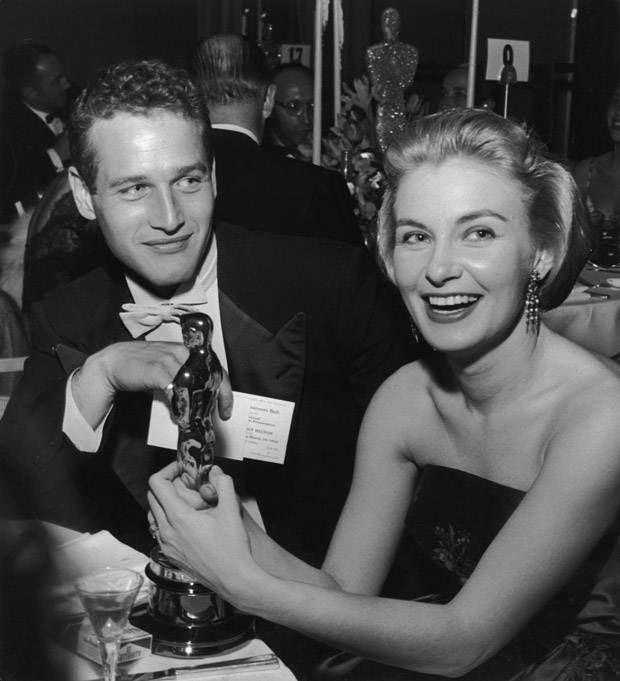 Paul Newman and Joanne Woodward ... It is obvious by the way he is looking at her, just how much he loves her