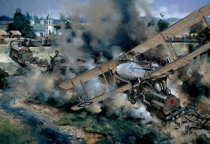 DH9. 221 Sqn.Russia 1919