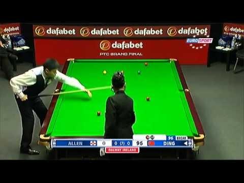 Ding Jun Hui, Dafabet PTC Grand Finals 2013, Semi-Finals, 147 Against Mark Allen