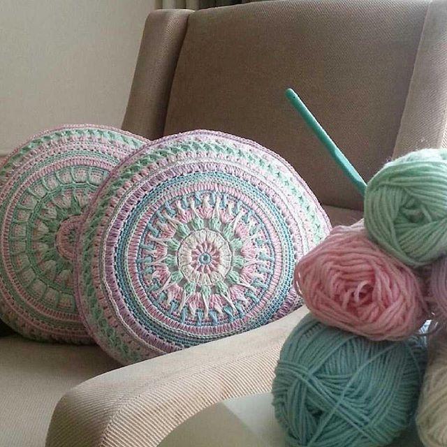 243 besten Crochet cushion Bilder auf Pinterest | Kissen, Stricken ...