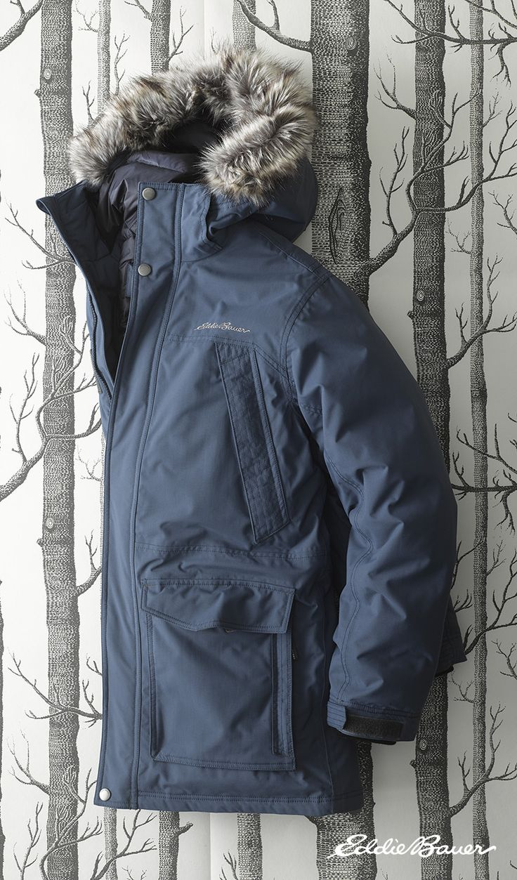 Men's Superior Down Parka | No matter what kind of weather winter throws at you, this parka has you covered.