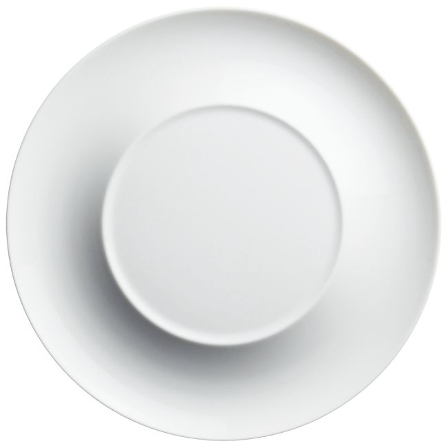 #Raynaud - Limoges #porcelain - Lunes collection, dinner #plate