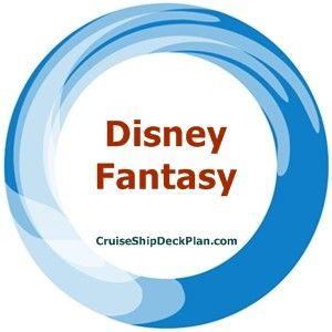 Disney Fantasy Deck Plan