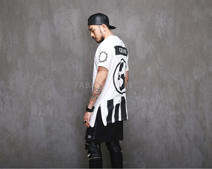 Mens Creator ±3 Side Zip T Shirt at Fabrixquare $28