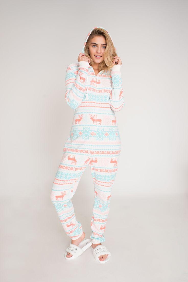 Fleece PJ onesie