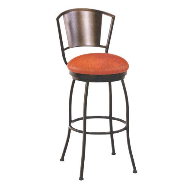 Tempo 34-Inch Brazilia Extra Tall Swivel Bar Stool without Arms