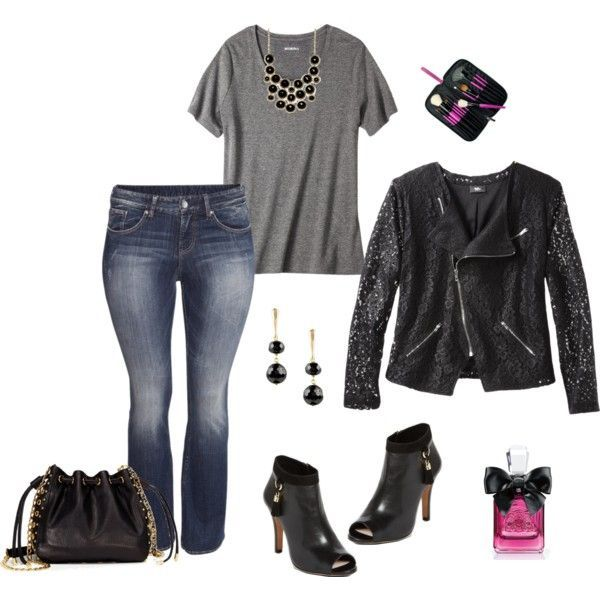Polyvore Outfits Already Put Together Plus Size Plus