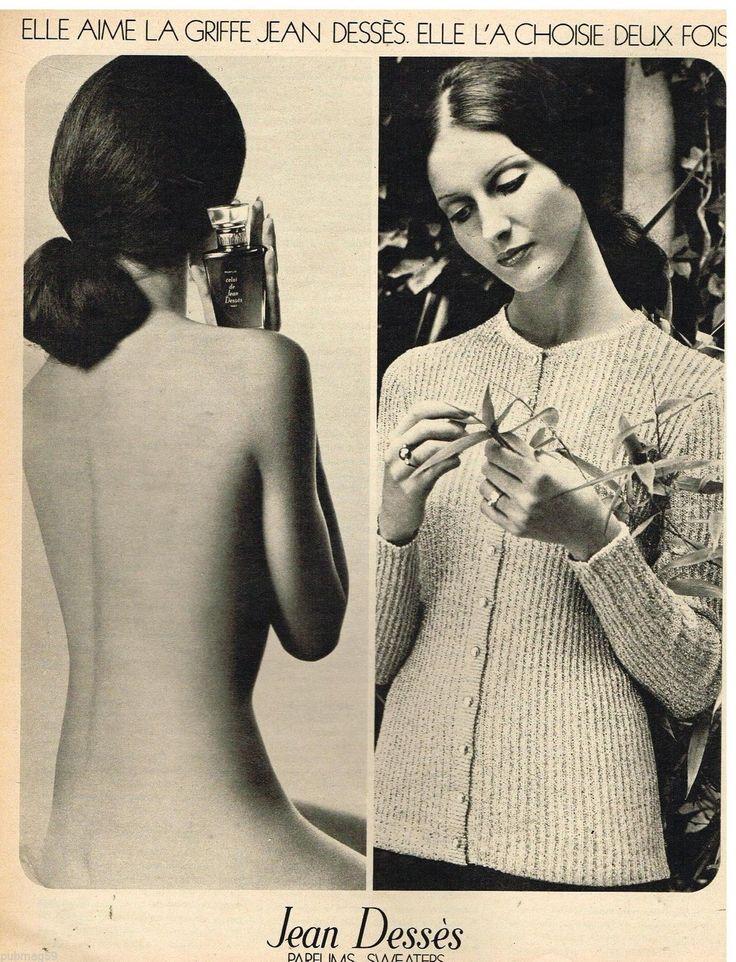 Jean Desses Sweaters Parfums 1972