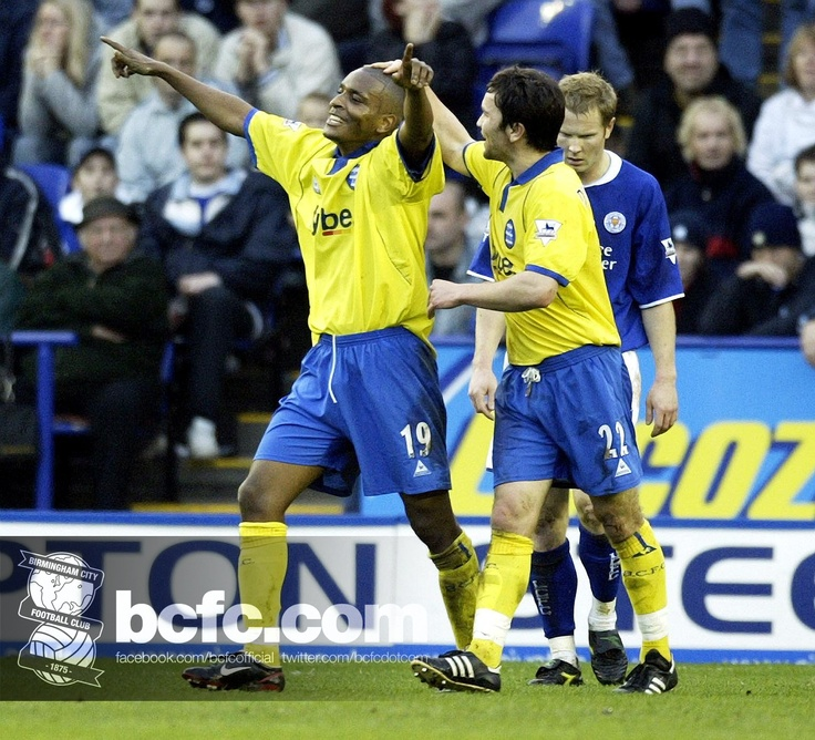 21st CENTURY TIME MACHINE: To get you in the mood for tomorrow's trip to Leicester City, here's a flashback to the 2-0 victory over the Foxes at the Walkers Stadium (now King Power Stadium) on 13 December 2003 as Clinton Morrison celebrates scoring the opener.