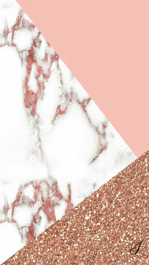 Iphone Wallpaper Fond D Ecran Rose Marbre T Paillettes