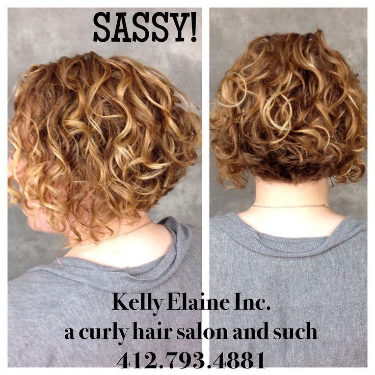 Short Curly Hair Kelly Elaine Inc A Curly Hair Salon And