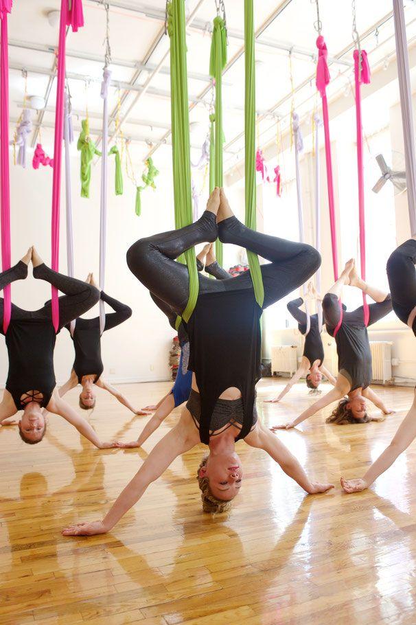 Aerial Yoga - Yoga in New York