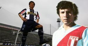 César Cueto jugó los mundiales de Argentina 78 y España 82 anotando 1 gol. Idolo del futbol peruano cumple 62 años.  June 16, 2014.