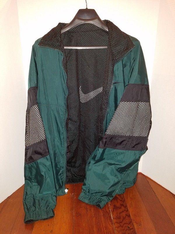 b1ef7698b1 NIKE Mens Light Jacket XXL Wind Breaker Outdoor Golf 2XL Zip up  Nike
