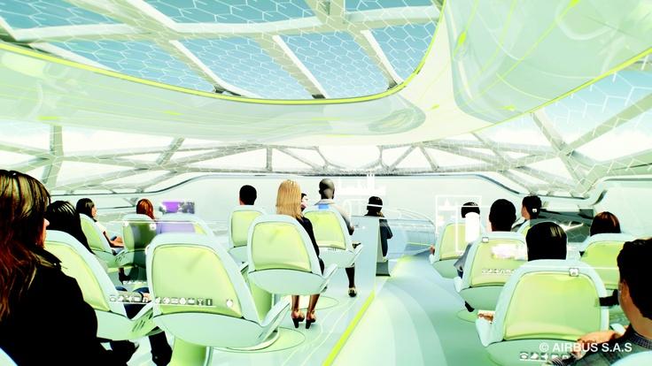 #Airbus #Concept #Plane - Transparent Membrane