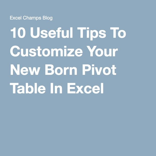 how to make pivot talbe in excel windows