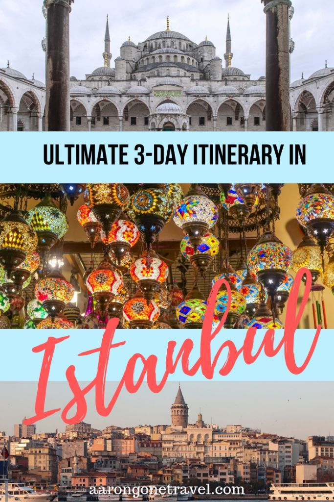 Ultimate Istanbul Itinerary for 3 days