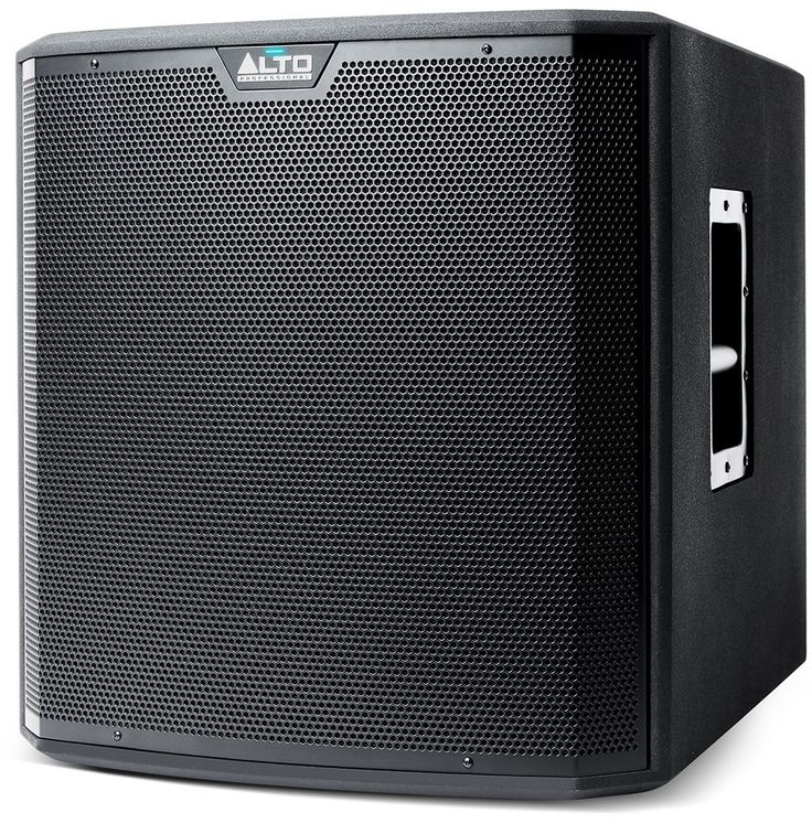Alto TS215S 15-Inch Powered Subwoofer For those performance situations where additional low-frequency output and punch are required, even beyond the already-impressive bass capability of the TS2 full-range speakers, the new TS2 powered subwoofers are the perfect solution. Pair a TS215S with any full-range speaker system to extend the bass response and dramatically enhance the overall impact of the music being played.Features:   1250-watts of peak power output Custom engineered…