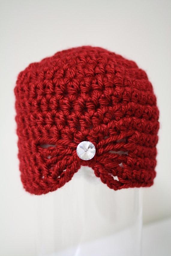chrochet butterfly hat crochet hat by SimplyCuteCrochet on Etsy, $21.00