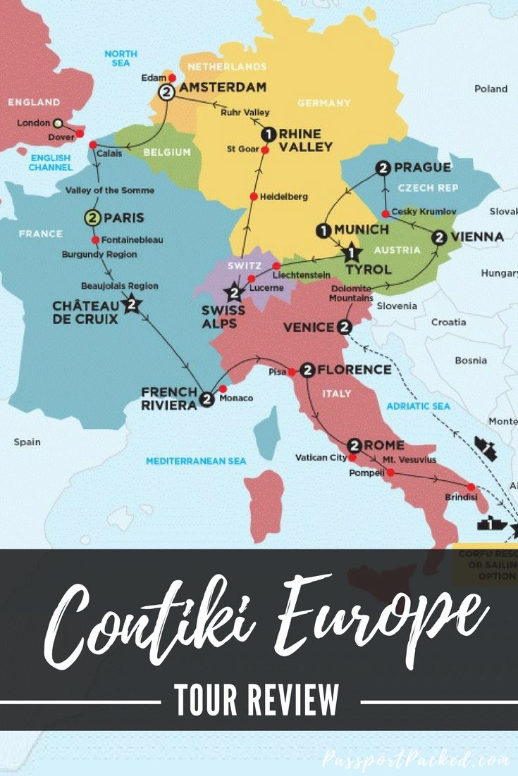 Contiki tour review - European Contrasts + Corfu Resort. Contiki is a great way for young travelers to visit Europe and meet other young fun travellers in Europe. Contiki group travel is a great way to start your gap year in Europe or move to London.