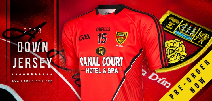 New Down 2013 jersey on pre sale now. oneills.com