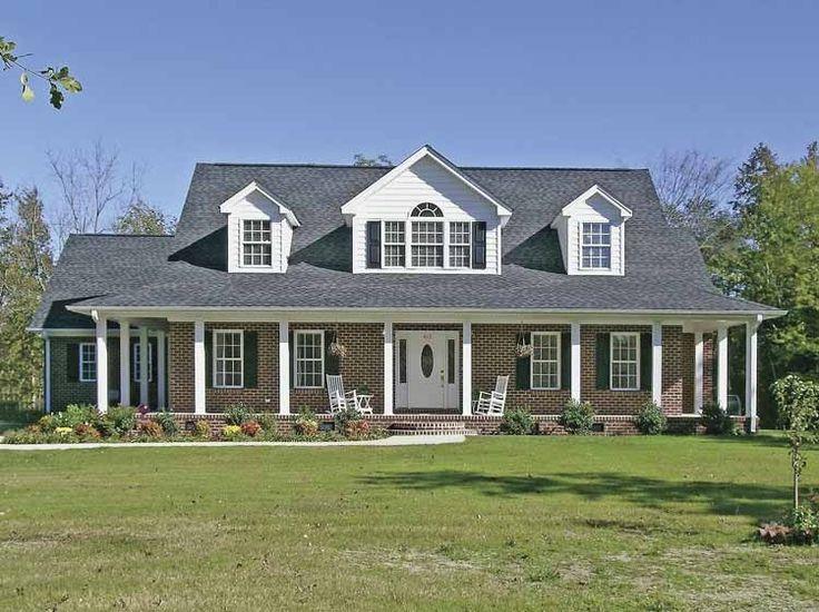 Eplans Farmhouse House Plan Classic Brick Farm House