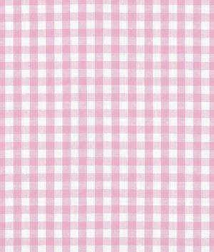 "1/4"" Pink Gingham Fabric - $3.75 | onlinefabricstore.net"