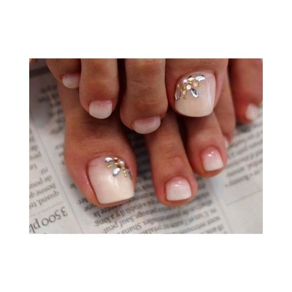Pedicures ❤ liked on Polyvore featuring beauty products, nail care and manicure tools