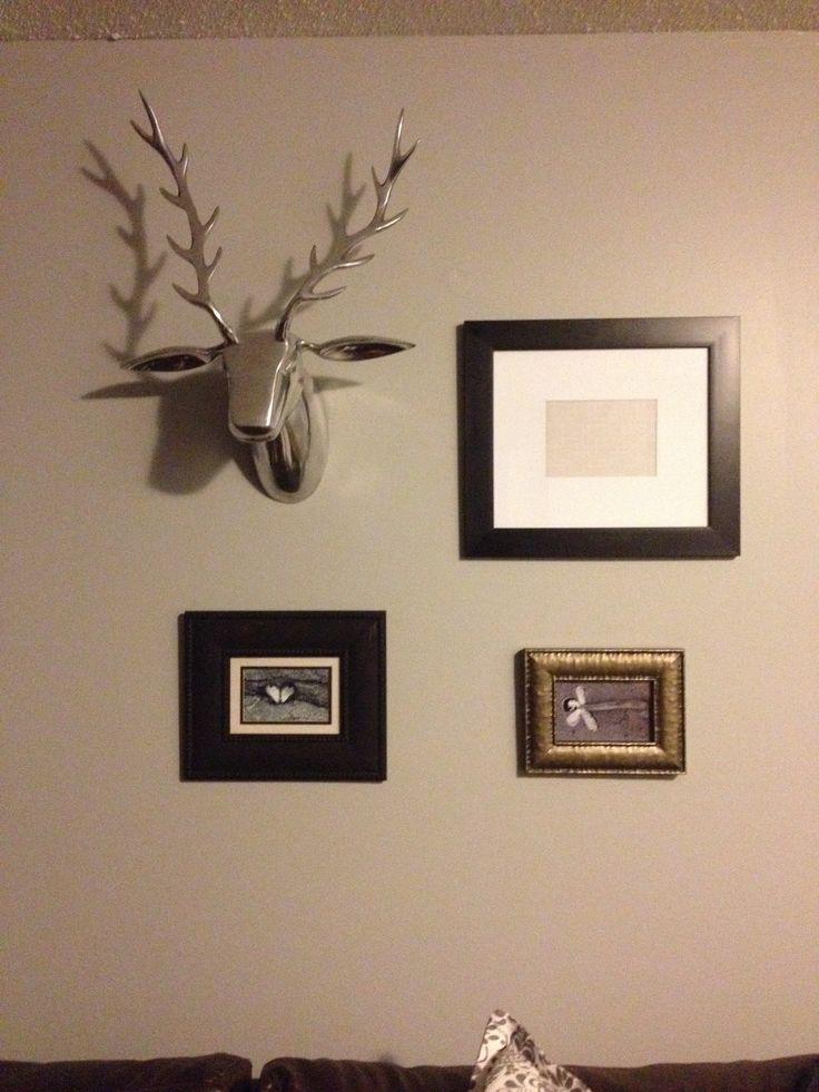 Deer head montage