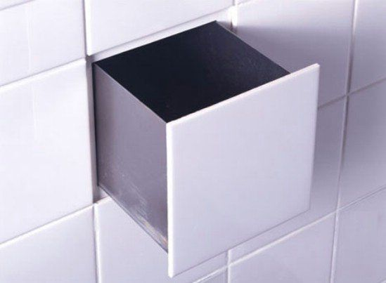 Bathroom Tile Storage - 15 Secret Hiding Places That Will Fool Even the Smartest Burglar