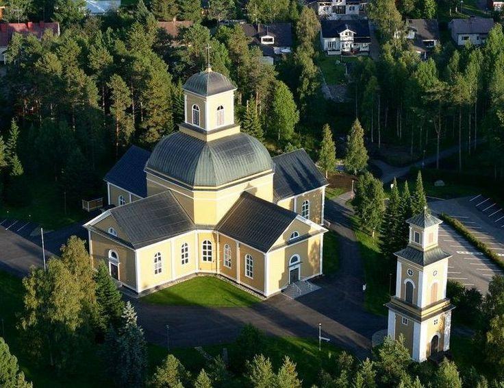 Kuhmon kirkko, photo T. Kauha