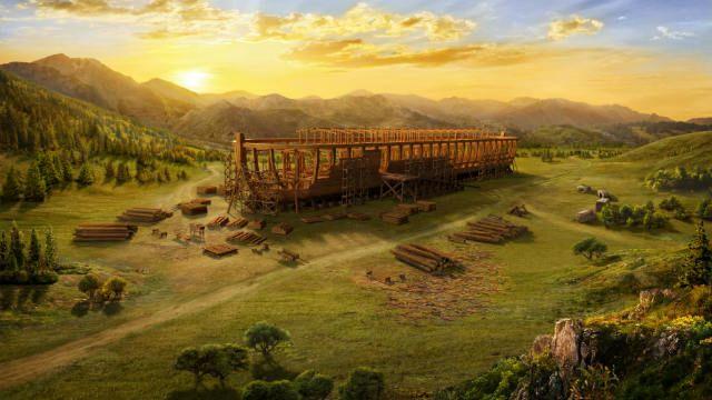 Dios Pretende Destruir El Mundo Con Un Diluvio Y Ordena A Noé Construir Un Arca Iglesia De Dios Conocer A Dios Voluntad De Dios
