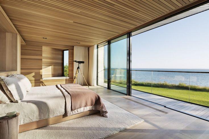 Waterfront Modern Retreat Overlooking Peconic Bay in the Hamptons, Peconis House 11