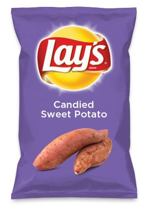 Wouldn't Candied Sweet Potato be yummy as a chip? Lay's Do Us A Flavor is back, and the search is on for the yummiest flavor idea. Create a flavor, choose a chip and you could win $1 million! https://www.dousaflavor.com See Rules.