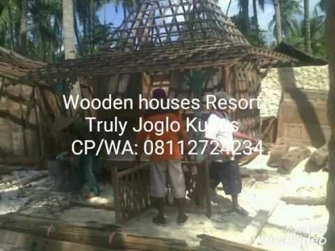 Truly Joglo Kudus presents a project of custom wooden houses built in Batu Karas Beach Resort in Pangandaran, West Java. Made of recycled timbers and designed in Joglo House Roofs. Applying Javanese Architecture. Info & Inquiry: Telp/Whatsapp: (+62) 08112724234  Facebook: Arif Joglo Java Bali email: Truly.Arifsuryanto@Gmail.com Www.trulyjoglohouse.blogspot.co.id