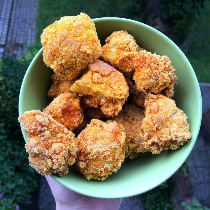 Gebackener Blumenkohl vegan glutenfrei vegane chicken wings fettarm