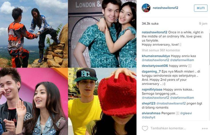 Pemain Sinetron Anak Jalanan Natasha Wilona Dan Stefan William Rayakan Anniversari Ke 2 Dengan Melakukan Hal Ini | Kabarmaya.com