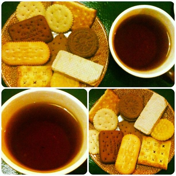 Tea Time! #tea #biscuits #saturdays