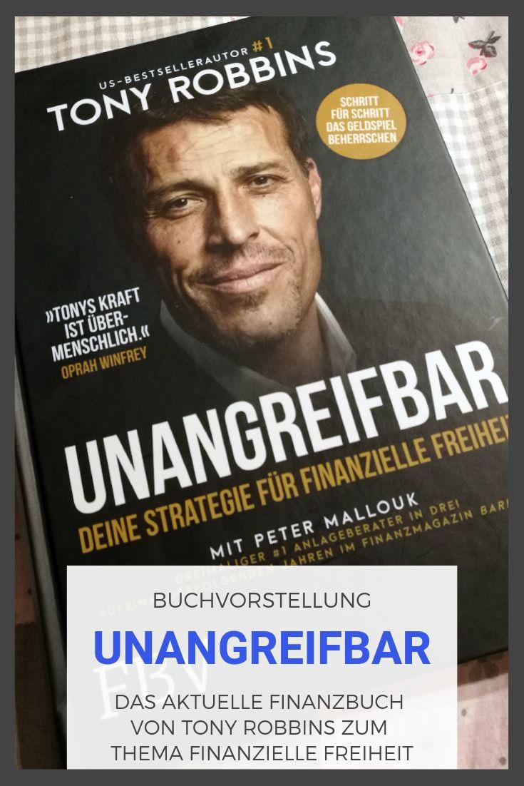 UNANGREIFBAR von Tony Robbins, eine Buchvorstellung – Technik-Finanzen.de   Blog
