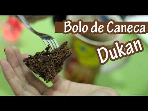 ▶ Bolo de Caneca Chocolate - Receita Dukan @Julie Forrest Schaub Williams Silva - YouTube