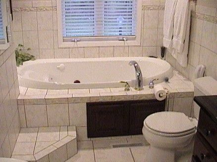 Dropin Tub With Steps Bathtubs Whirlpool With Tile Tub