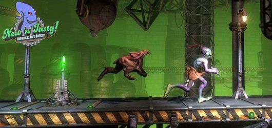 Oddworld : New 'n' Tasty ! The best game ever!!