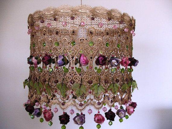 Celebration of Swarovski crystal beads antique look by AnatBon