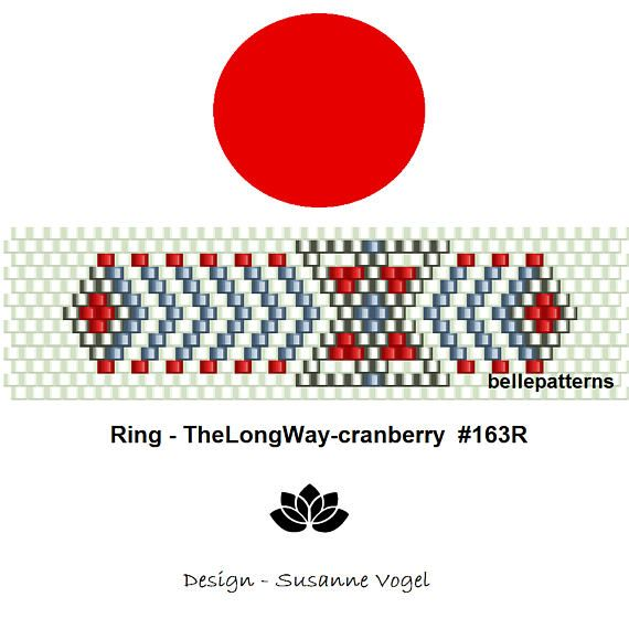 peyote ring patternPDF-Download 163R beading pattern