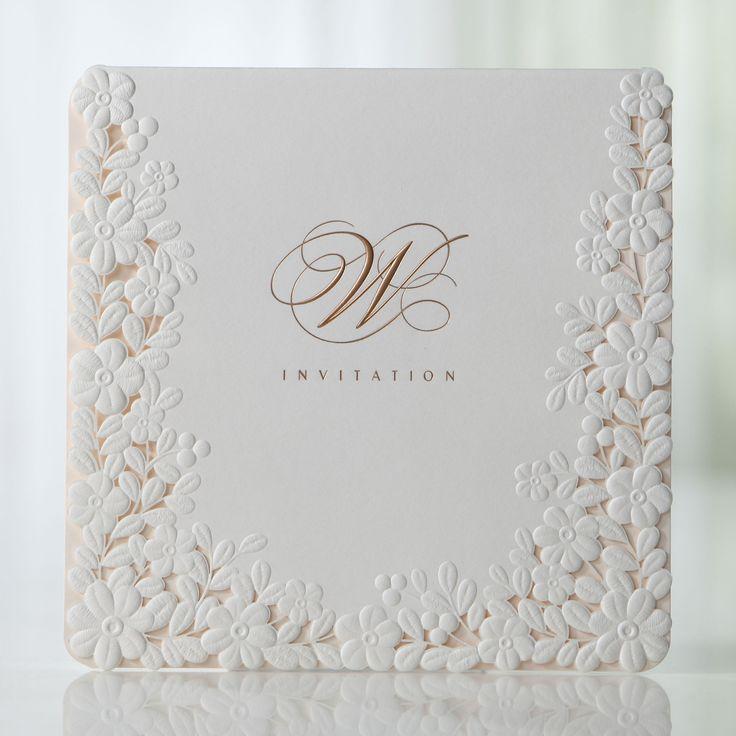 best 20+ embossed wedding invitations ideas on pinterest, Wedding invitations