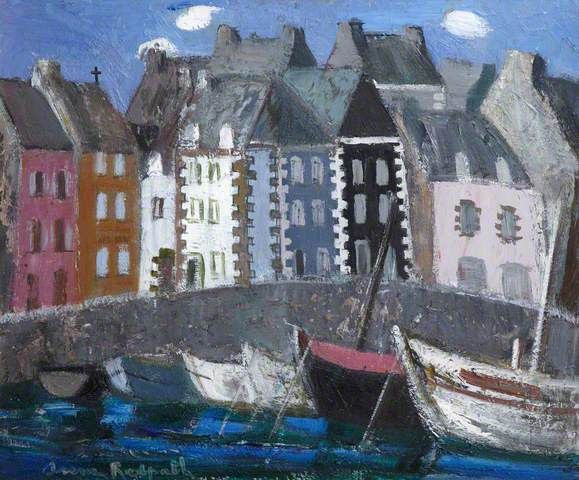 Anne Redpath - Tréboul Harbour, France