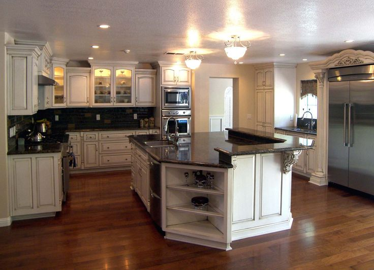 109 best Kitchen Cabinets images on Pinterest | Kitchen cabinets ...